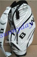 1 pc Free shipping, wholesale, pu, golf bag, high quality, fashinable, golf staff bag