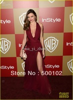 70th Golden Globe awards Red Carpet Dresses Miranda Kerr Party Zuhair Murad Side Slit Gown