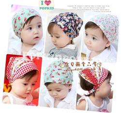 Free shipping! Printed cotton baby headband infant hairband Girl's Head Accessories Baby hair accessories(China (Mainland))