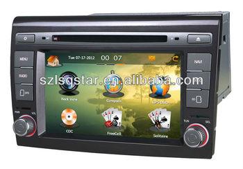 Car Radio for 2 Din 7 inch Fiat Bravo car dvd player with DVD/CD/Mp3/Mp4/Bluetooth/IPOD/Radio/PIP/6V-CDC/TV/GPS!3G!