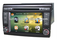 Car Radio for 2 Din 7 inch Fiat Bravo car dvd player with DVD/CD/Mp3/Mp4/Bluetooth/IPOD/Radio/PIP/6V-CDC/TV/GPS!3G!