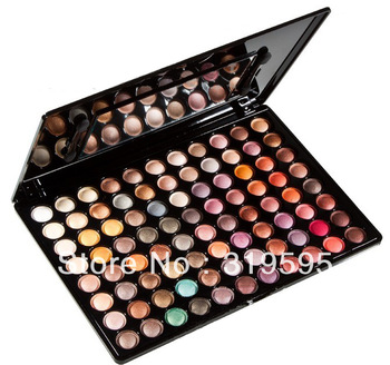 freeshipping pro 88 color eyeshadow palette metal fashion makeup eye shadow powder waterproof 88#4