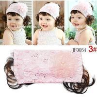 Free shipping!Baby Headband,Rose Silk Flower Pattern Baby Hairband,Children Lace Hair Bows,Kid's Flower Headbands