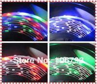 X2pcs free shipping wholesale 5m/roll 3528 rgb 300leds non-waterproof led strip+24 key IR rgb controller christmas tree led