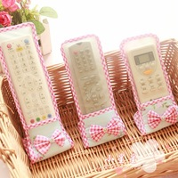Remote control board set tv remote control protective case remote control cover remote control cover transparent fabric