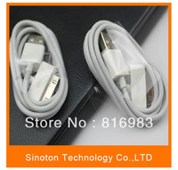 High quality USB Cable for iphon 4/4s 3g/3s   6pin 100cm, Good quality   Free shipping