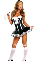 High Fashion Adult Costume  Costumes For Women Party Dress  Sexy Costume With Headdress