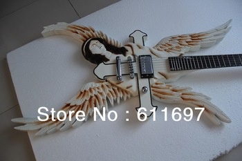 2014 new arrival + free shipping + guitar factory + ESP custom angel electric guitar, The only seller in China