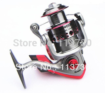 Free shipping New fishing equipment High Quality 6 BB  Power Gear Spinning Spool Aluminum Fishing Reel SK4000