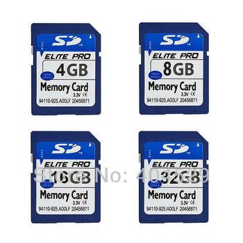 High quality SD card 4GB 8GB 16GB 32GB SDHC card memory card Free shipping