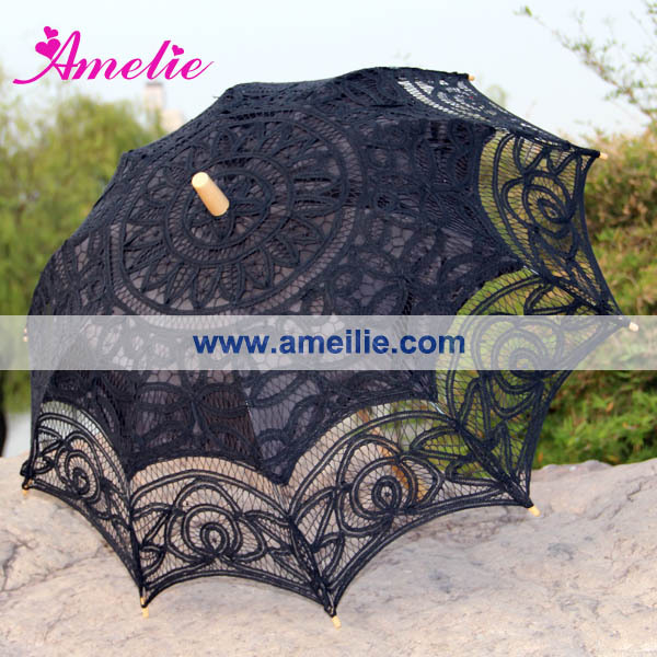 50pcs/Lot Batten Lace Umbrella Lace Parasol(China (Mainland))
