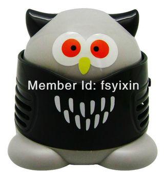 mini vacuum cleaner  -  owl