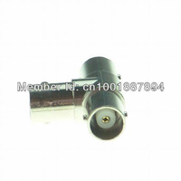 Free Shipping,Three BNC Female Connector Plug For CCTV Coaxial Cable