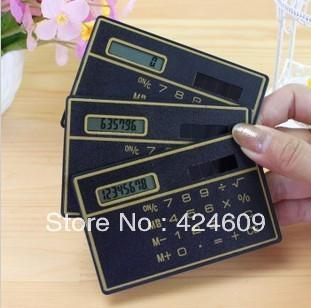 korea stationery ultra-thin card handheld mini calculator computer o12