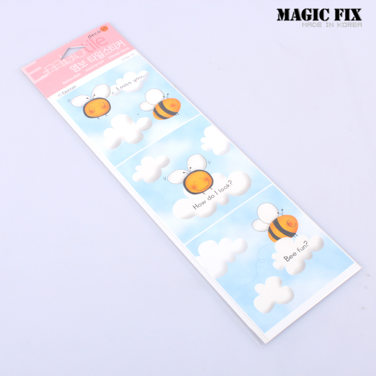 Wholesale price Magic fix wall stickers bathroom tile toilet stickers waterproof stickers refrigerator stickers esm(China (Mainland))