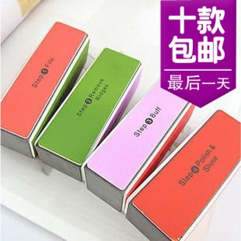 3095 nail polish oil nail art tool sanding block tofu nail art frustrate