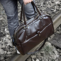 Fashionable casual fashion male PU handbag messenger bag man bag travel