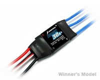 ESC -- Hobbywing Flyfun 30A Brushless Electric Speed Controller for RC airplanes