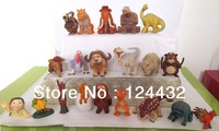 CHILDREN'S DAY GIFT Ice Age 4 Continental Drift Movie 20 PCS Figure SET Diego Manny Scrat Acorns