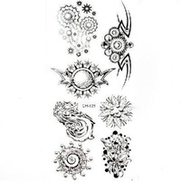 New Temporary Tattoos Design Authentic CH521