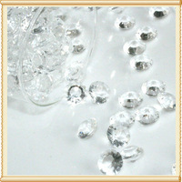 12MM Crystal Wedding Table Scatters Glass Table Diamond For Wedding Party Favours