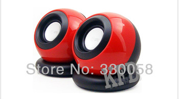 Mini speakers Sound Magic Stereo Ball speaker Laptop MP3 USB Power Supply