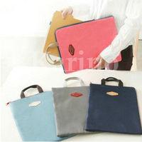 Free Shipping Wholesale New For ipad Storage Organizer Multi Bag Purse Hop Bag Handbag Insert, Briefcase, A4 Pouch