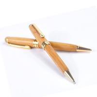 Angelina bamboo metal pen ballpoint pen supplies d1011