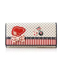 Snoopy snoopy wallet women's long design cartoon wallet