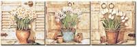 DIY Painting Wonderful Memories Large Paint by Number Kit Set of Three PBN KL17004