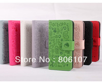 Retail and Wholesale  High Quality leather case for  HTC WINDOWS PHONE 8S CELLPHONE Free shipping with tracking number