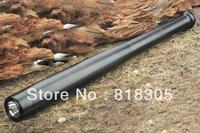police truncheons CREE Q5 Torch Ultra Bright LED Flashlight Mini Baseball bat shape For Security Dropshipping