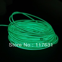 EL Wire - 9m - 2.3mm - Green - AC/DC Adapter