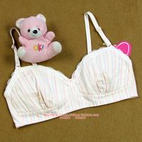 Dream young girl bra full cotton 100% wireless student cotton vest underwear bra 5218