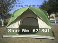 Super-elevation 1.8 meters outdoor window camping 5 - 6 anti-uv double layer camping tent