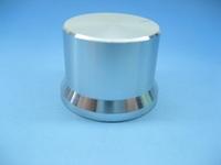 Exquisite knob aluminum alloy silver audio knob anthocaulus knob