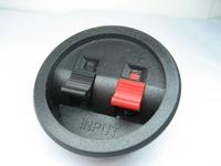 Circle speaker wiring clip terminal block led lighting  Audio jack