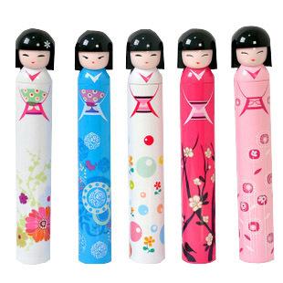 Ultra-light sun umbrella folding umbrellas Japan girl umbrella Ultra-slender pencil umbrella free shipping