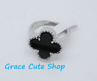 Free Shipping Fashion Rings Famous Branded Jewelry 5A Top Quality Gift Package(Dust Bag,Gift Box) #LOR02