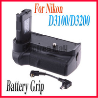 FREE SHIPPING!!NEW Pro Vertical Battery Grip BP-D3100 + Transfer Cable for Nikon D3100 D3200 D3300 DSLR Camera,Drop SHIPPING!!