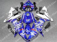 blue white black body for YAMAHA YZF R1 04-06 YZF-R1 YZFR1 YZF 1000 YZF1000 04 05 06 2004 2005 2006 ABS fairing kit