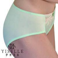 Summer abdomen drawing butt-lifting 2301 lace briefs