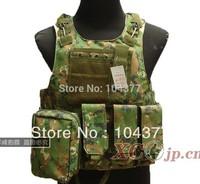 Free shipping Man Tactical vest ride vest combat vest Camouflage amphibious Military vest