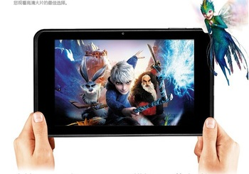 "Android4.1 Cube U21GT RK3066 Dual Core Tablet PC 7"" IPS 1.6Ghz 1GB RAM 16GB HDMI WIFI Camera 1280*800 HD capacitive screen"