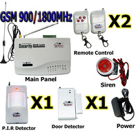 free shipping NEW Wireless Home GSM Security Alarm System / Alarms / SMS / Call / Autodial