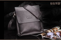 Casual leather cross body bags for man multi-function fashion business message men shoulder bag