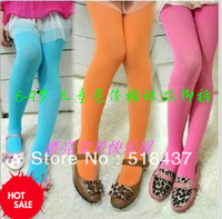 girls pantynose tights kids pants panty-hose dance tights velvet tights candy colored clothing  jumpsuit free shipping