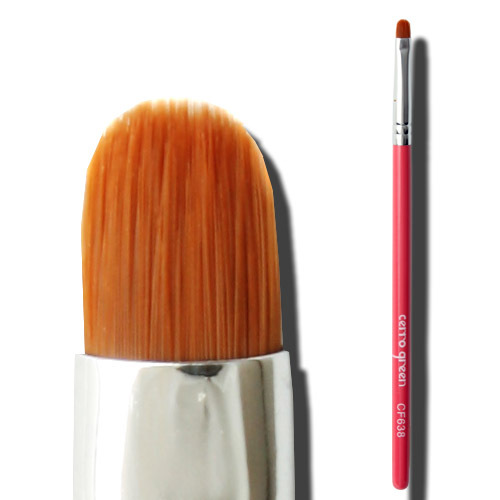 Cosmetic brush make-up cerro qreen high quality cf series eyeliner brush eyeliner cream pink cf638(China (Mainland))