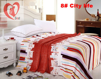 free shipment Coral fleece High-grade Eco-friendly Microfiber Blanket 37 Designs for choose180*200cm