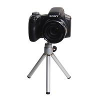 Free Shipping Universal Mini Travel Aluminum Metal Lightweight Tripod Support Stand Mount for Digital Camera Webcam